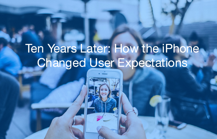 How the iPhone Changed User Expectations